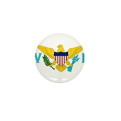 U.S. Virgin Islands Mini Button