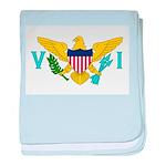 U.S. Virgin Islands baby blanket
