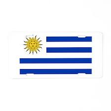 Uruguay Aluminum License Plate