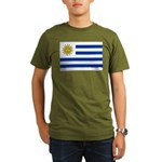 Uruguay Organic Men's T-Shirt (dark)