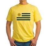 Uruguay Yellow T-Shirt