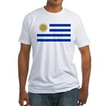 Uruguay Fitted T-Shirt