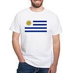 Uruguay White T-Shirt