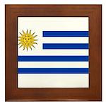 Uruguay Framed Tile