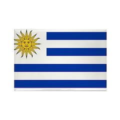 Uruguay Rectangle Magnet (10 pack)