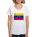Venezuela Women's V-Neck T-Shirt