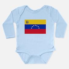 Venezuela Long Sleeve Infant Bodysuit