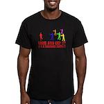 SD: Buffet Men's Fitted T-Shirt (dark)