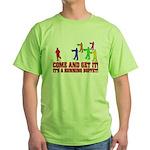 SD: Buffet Green T-Shirt