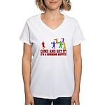 SD: Buffet Women's V-Neck T-Shirt
