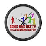 SD: Buffet Large Wall Clock