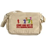 SD: Buffet Canvas Messenger Bag