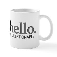 Hello I'm questionable Mug