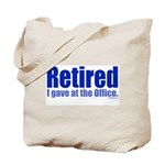 Retirement Tote Bag