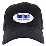 Retirement Black Cap