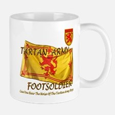 Scottish Tartan Army Footsold Mug