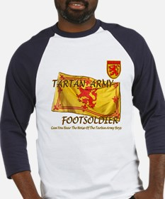 Scottish Tartan Army Footsold Baseball Jersey