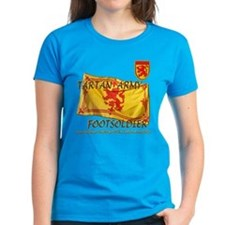 Scottish Tartan Army Footsold Tee