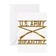 Us Army Infantry Greeting Card