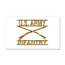 Us Army Infantry Car Magnet 20 x 12