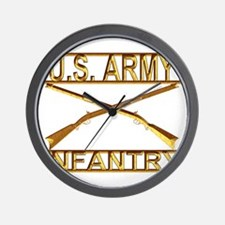 Us Army Infantry Wall Clock