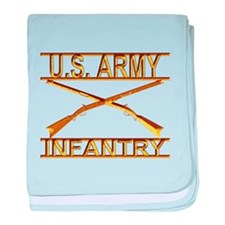 Us Army Infantry baby blanket