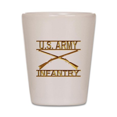 Us Army Infantry Shot Glass