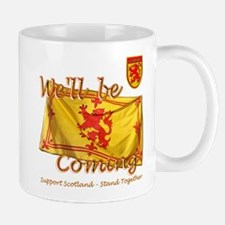 Scotland We'll be Coming Lion Mug