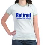 Retirement Jr. Ringer T-Shirt
