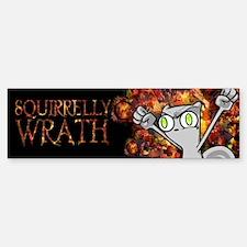 Foamy : Squirrelly Wrath Bumper Bumper Sticker
