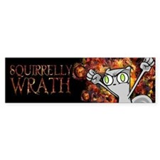Foamy : Squirrelly Wrath Bumper Sticker