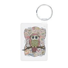 Owl Portrait Keychains