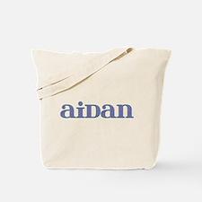Aidan Blue Glass Tote Bag