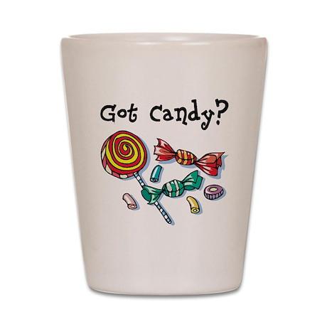 Halloween Got Candy Shot Glass