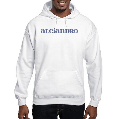 Alejandro Blue Glass Hooded Sweatshirt