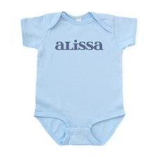 Alissa Blue Glass Infant Bodysuit