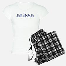 Alissa Blue Glass Pajamas