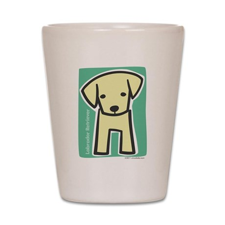 Labrador Retriever Shot Glass