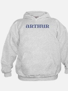 Arthur Blue Glass Hoodie