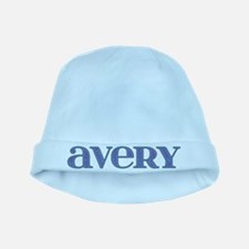 Avery Blue Glass baby hat