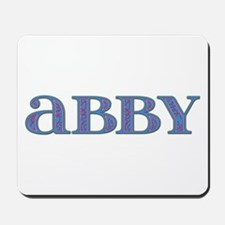 Abby Carved Metal Mousepad