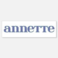 Annette Carved Metal Bumper Bumper Bumper Sticker