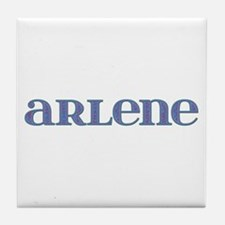 Arlene Carved Metal Tile Coaster