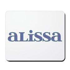 Alissa Carved Metal Mousepad