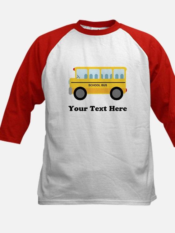 School Bus Personalized Tee