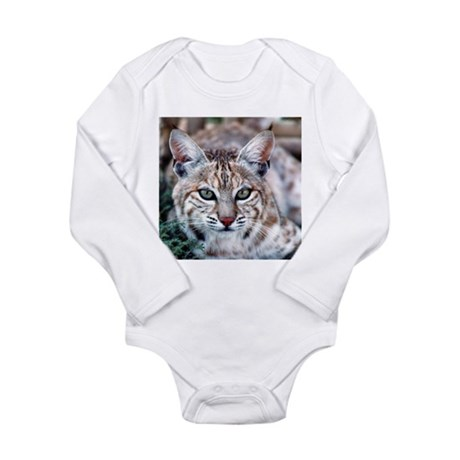Bobcat Long Sleeve Infant Bodysuit