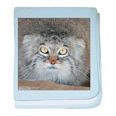 Pallas' Cat baby blanket