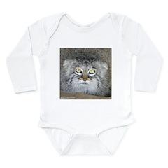 Pallas' Cat Long Sleeve Infant Bodysuit