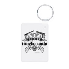 non timebo mala Floral Colt G Keychains