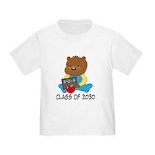 Cute Scholar Bear Class of 2030 T